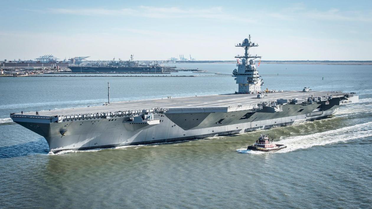 Fact: America Has No Way to Attack Venezula Using Navy Aircraft Carriers 7