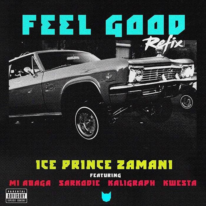 [Music] Ice Prince Ft. M.I Abaga, Sarkodie, Khaligraph Jones, Kwesta – Feel Good (Remix) 3