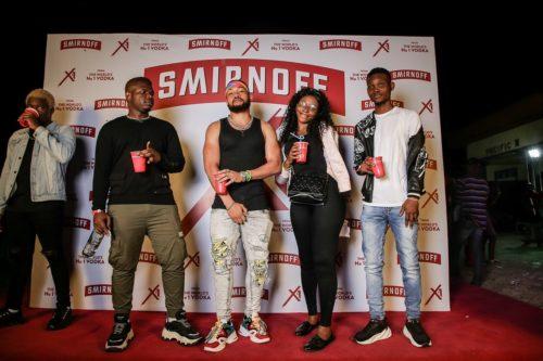 SMIRNOFF X1 TOUR: DJ SPINALL, A-LIST ARTISTS SHUT DOWN BENIN CITY 31