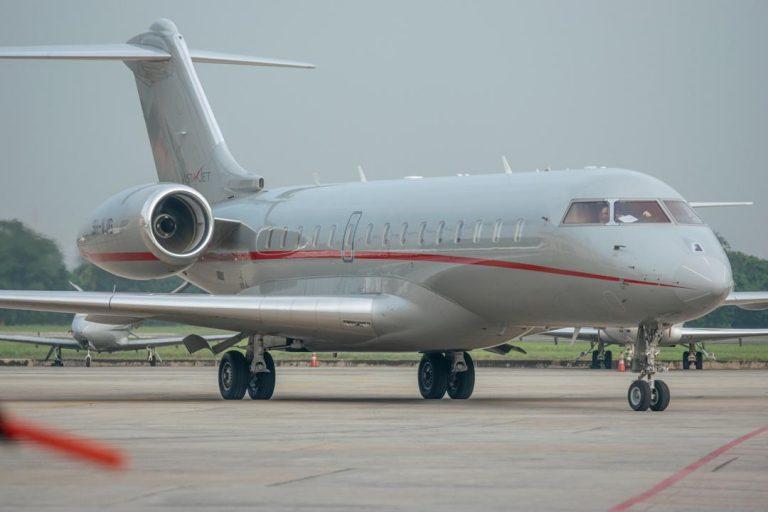 Cardi B Arrives Lagos In $20,000,000 Private Jet 7
