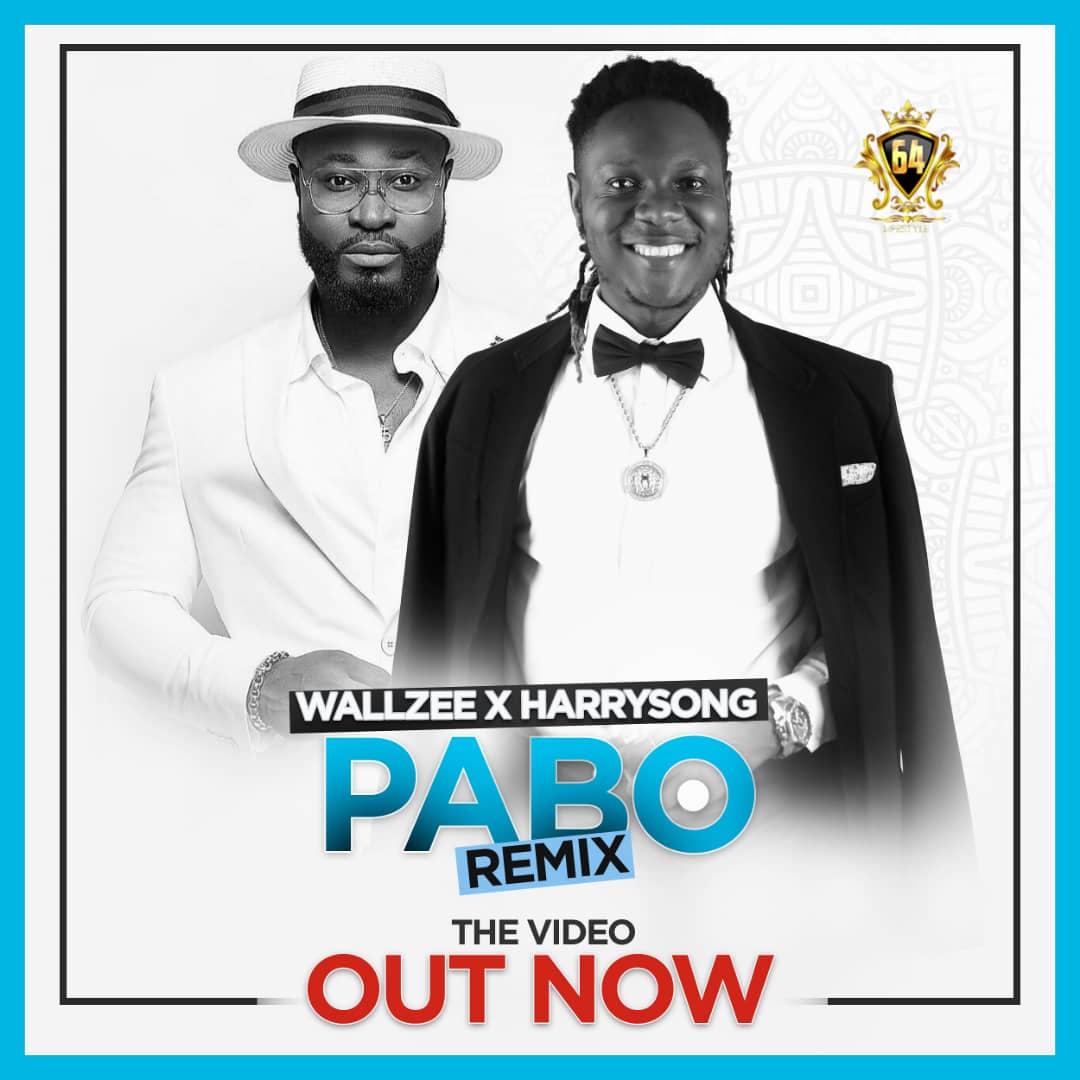 "[Video] Wall Zee -""Pabo Remix"" Ft Harrysong 1"