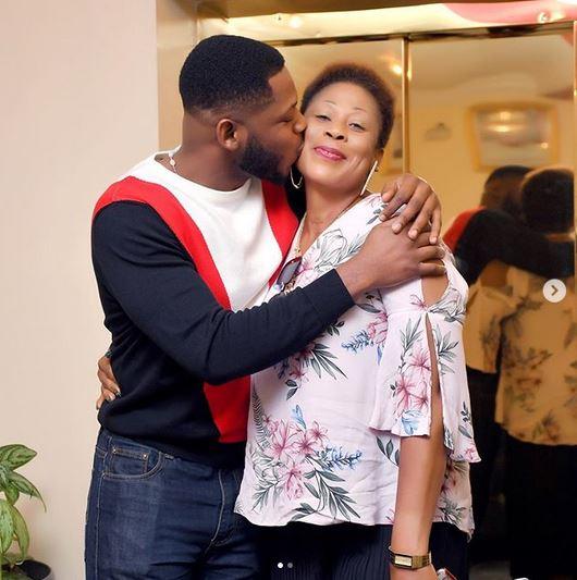 BBNaija Star, Frodd Shows Off His Beautiful Mum To Celebrate Her 50th Birthday (Photos) 7
