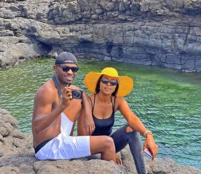 Mr Jollof Gushes Over His Wife, Says She Is More Beautiful Than Toke Makinwa 1