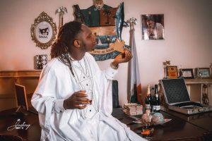 Team BEATAFRIKA Celebrates With Singer WALL_ZEE 1