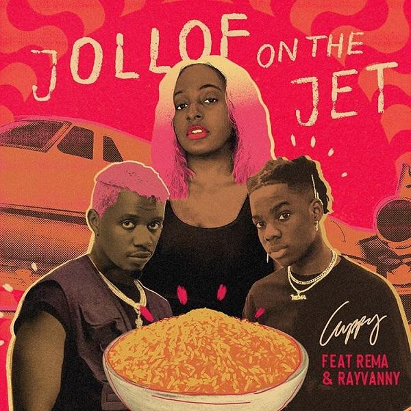 "Cuppy x Rema x Rayvanny – ""Jollof On The Jet"" 1"