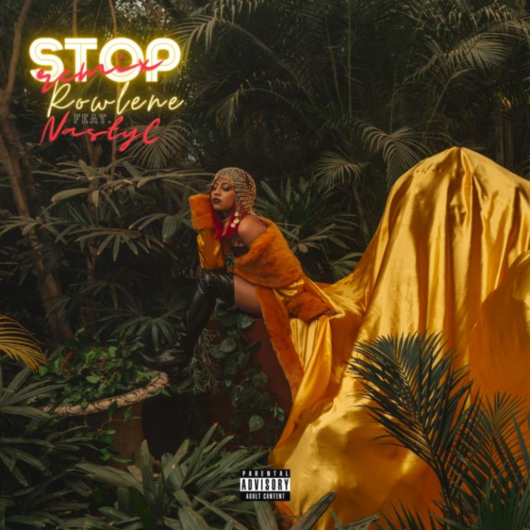"""Rowlene ft. Nasty C – """"Stop"""" (Remix) 3"""
