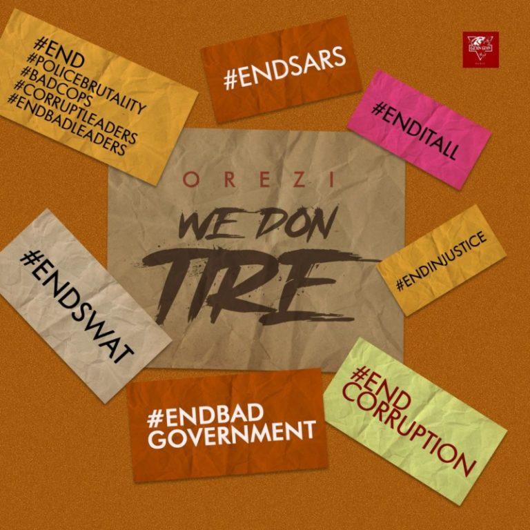 """Orezi – """"We Don Tire"""" 3"""