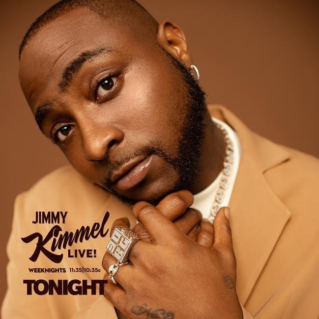 "Davido – ""Assurance/Jowo"" (Jimmy Kimmel Live!) 18"
