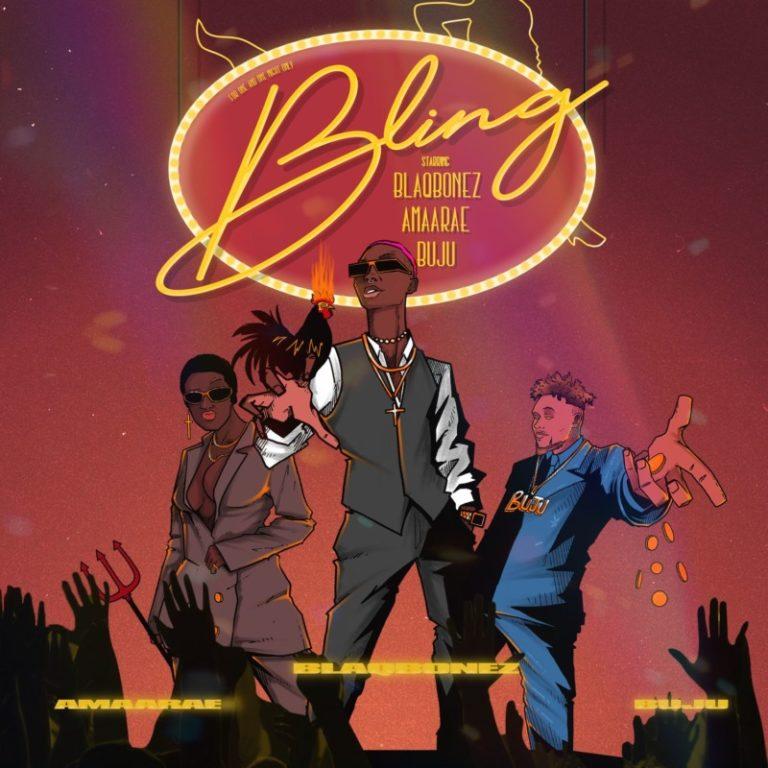 "Blaqbonez – ""Bling"" ft. Amaarae x Buju 12"