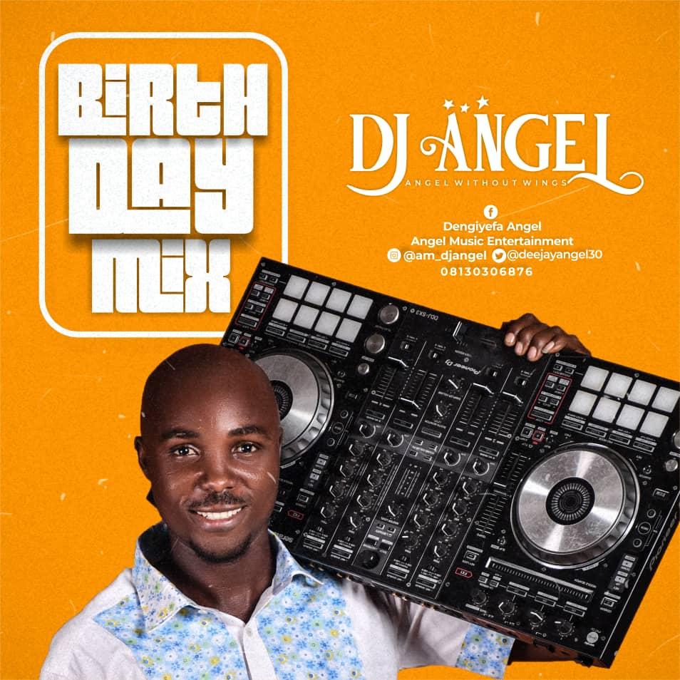 "Dj Angel -""Birthday Mix"" 12"