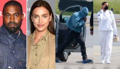 Kanye West & Irina Shayk Return To The U.S Together After Birthday Romantic Getaway 17