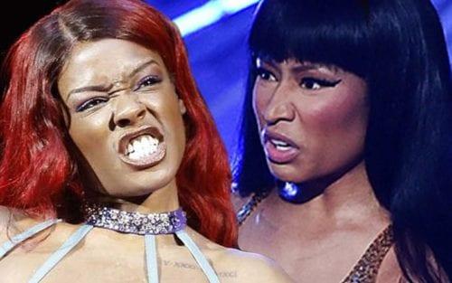 """Azealia Banks Calls Nicki Minaj """"Fat, Tolerable With A Percocet Addiction"""" 20"""