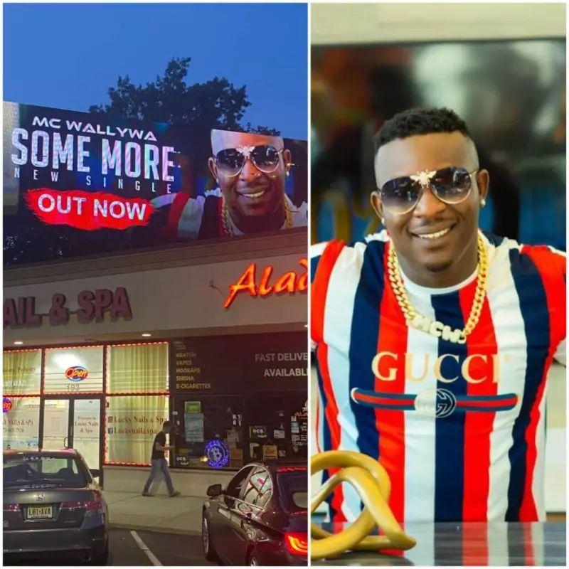 Nigerian US-based singer MC Wallywa's song debuts on New Jersey Billboard 15