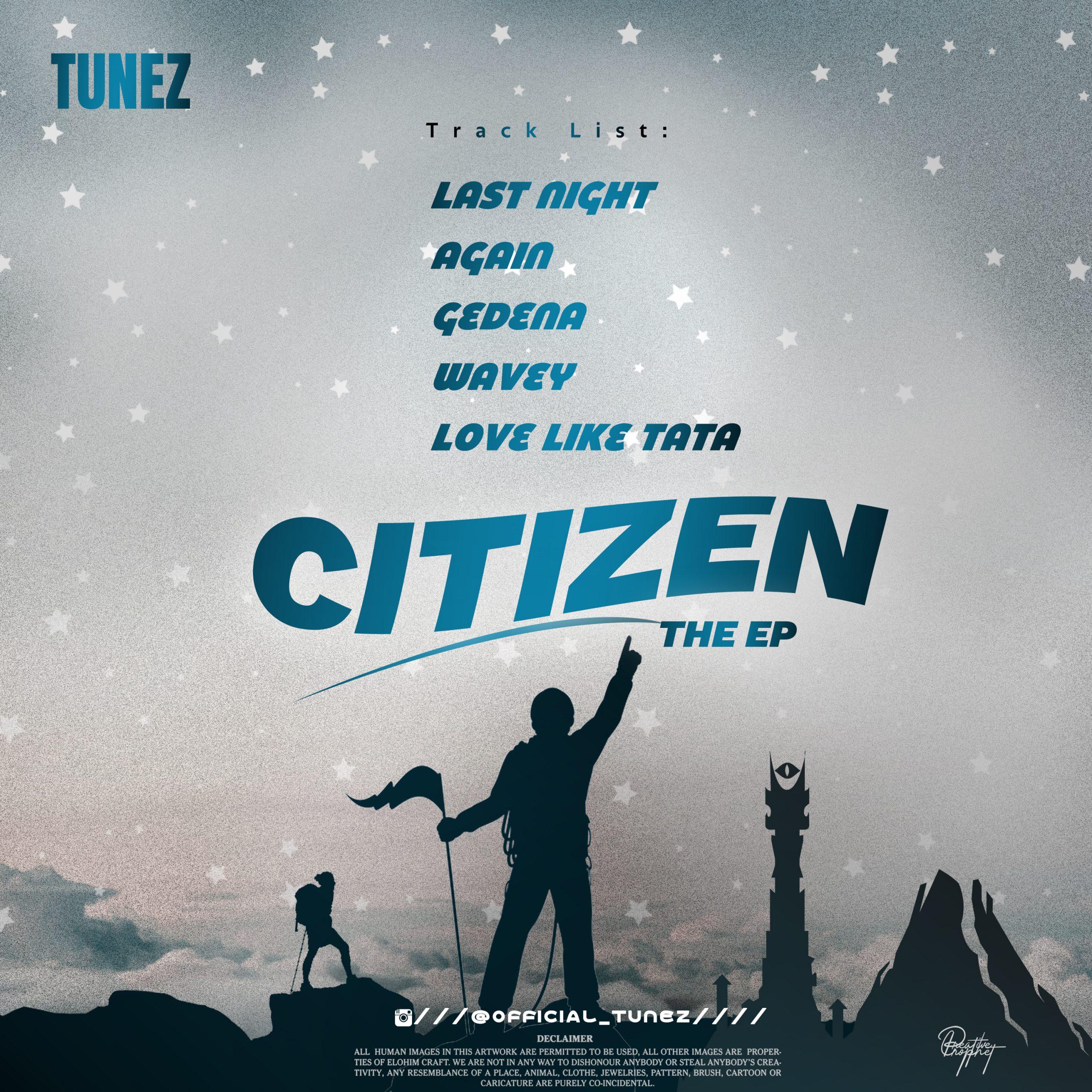 "Tunez - ""Citizen The EP"" 16"