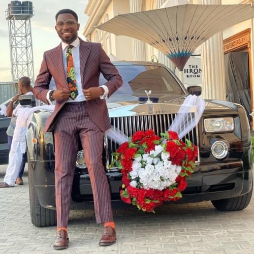 Timi Dakolo Celebrates His First Limousine Ride 1